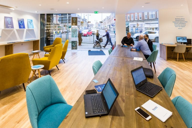 Newable Business Exchange Interior