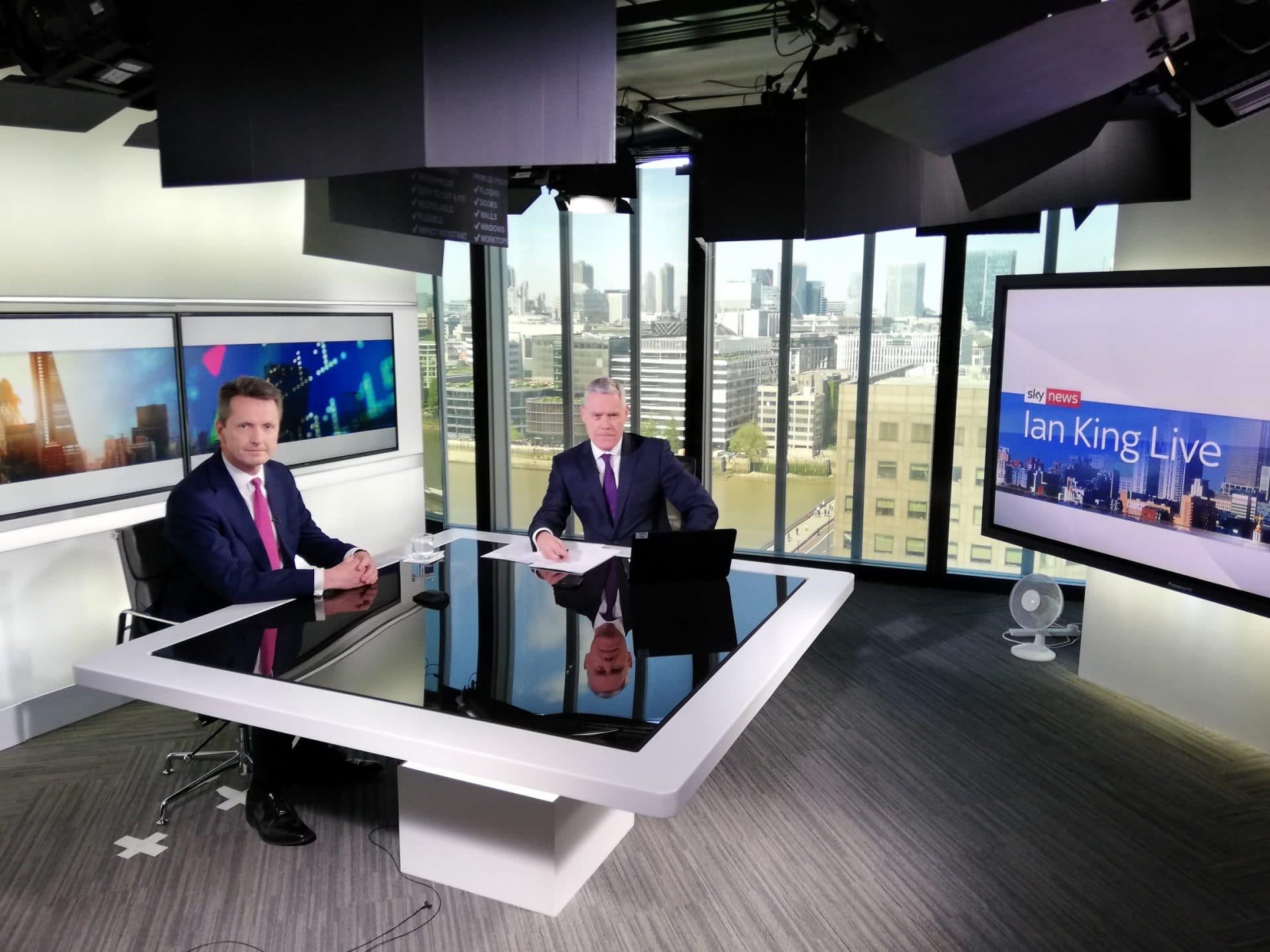 Sky News - Chris Manson & Ian King