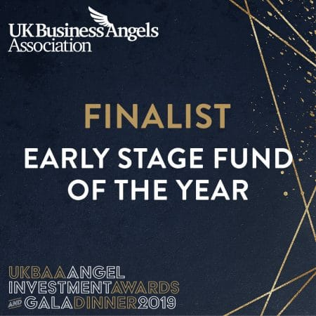 UKBAA Early stage fund of the year - finalist