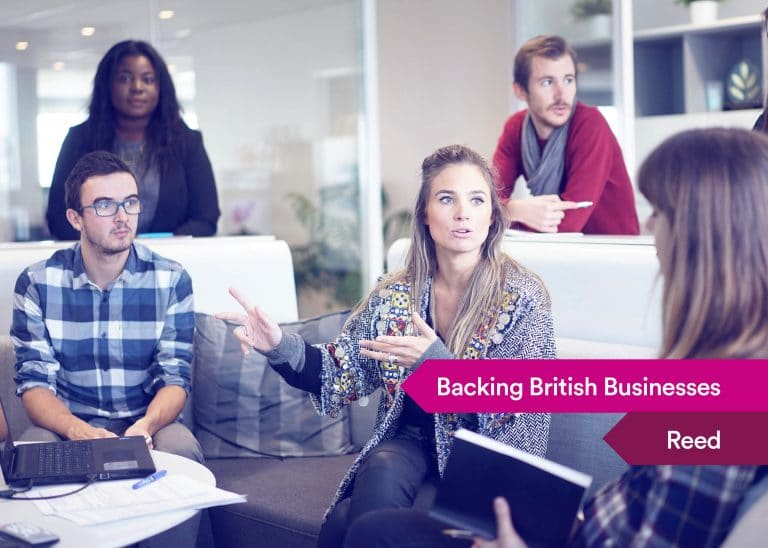 Backing British Businesses - Reed