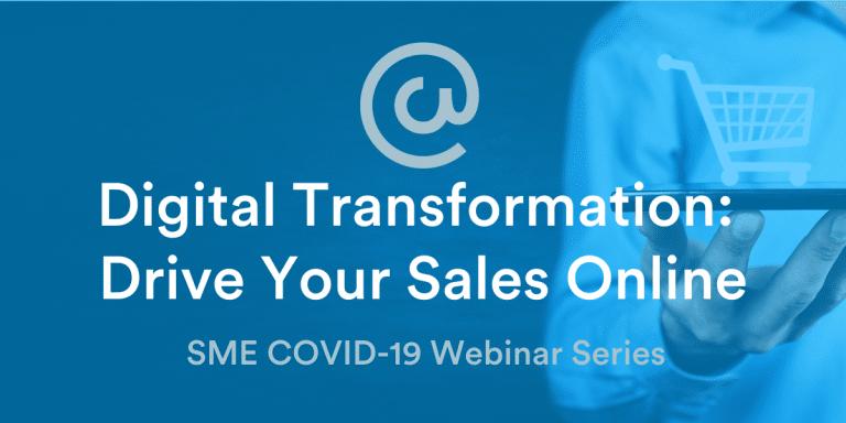Digital Transformation - Drive Your Sales Online
