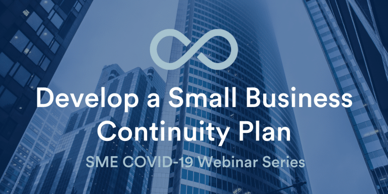 Develop a Small Business Cont Plan