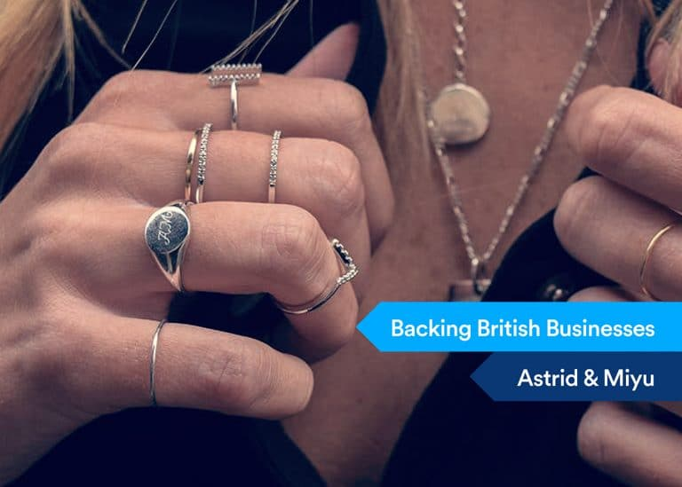 Backing British Businessess - Astrid & Miyu