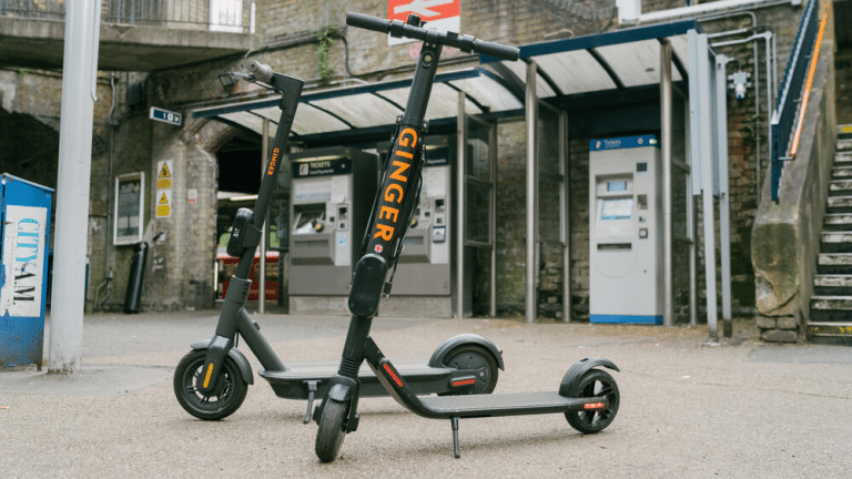 Ginger Scooters