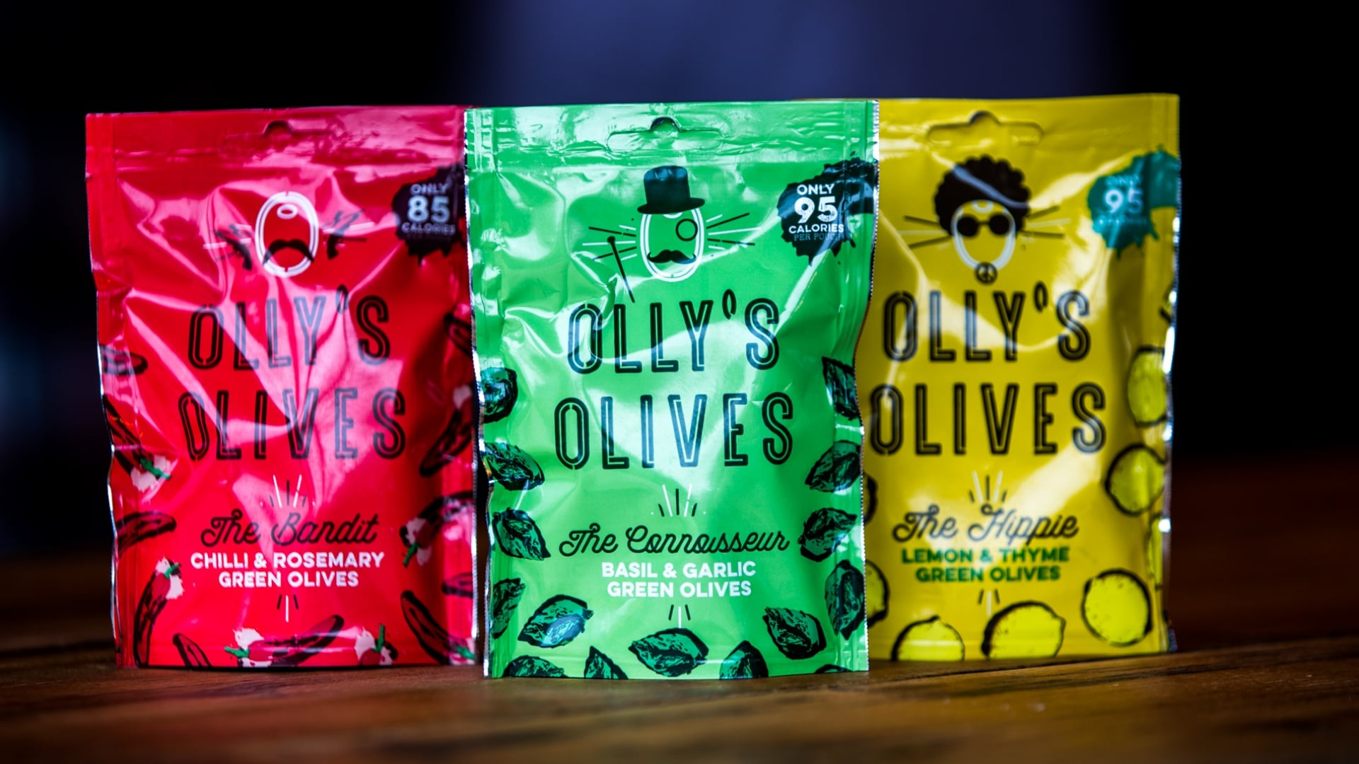 Olly's olives snack