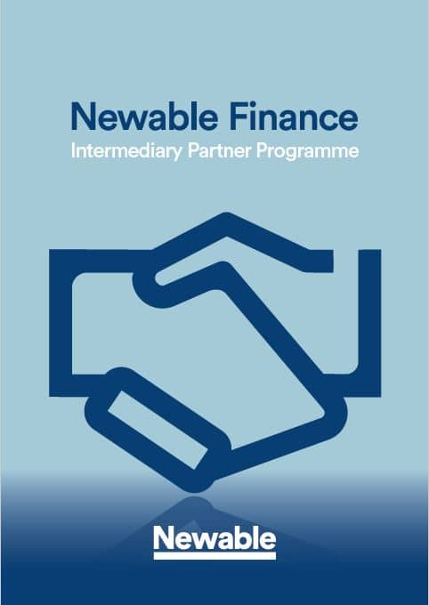 Newable Finance for intermediaries